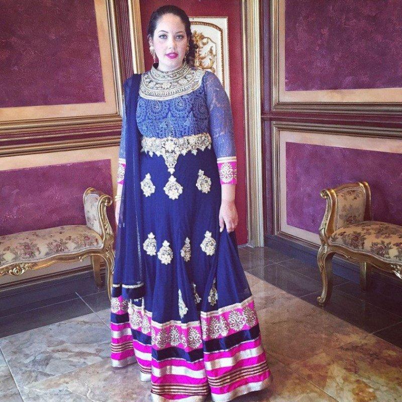 1fd0767d7e14 Plus size indian wedding dress - Best Ideas  Bridal Saree 2019