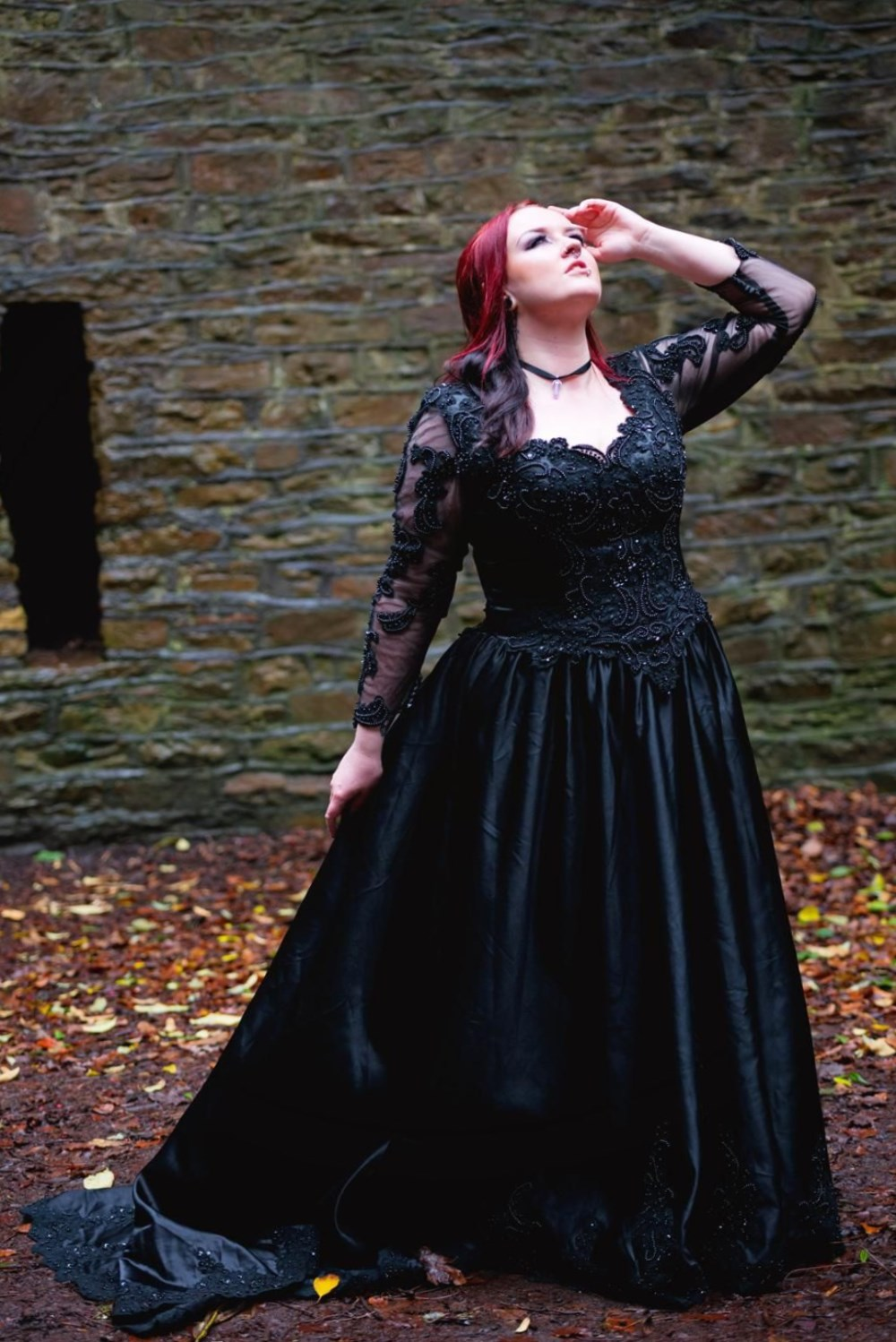 Best Plus Size Gothic Wedding Dresses - Latest Trends for 2019 ...