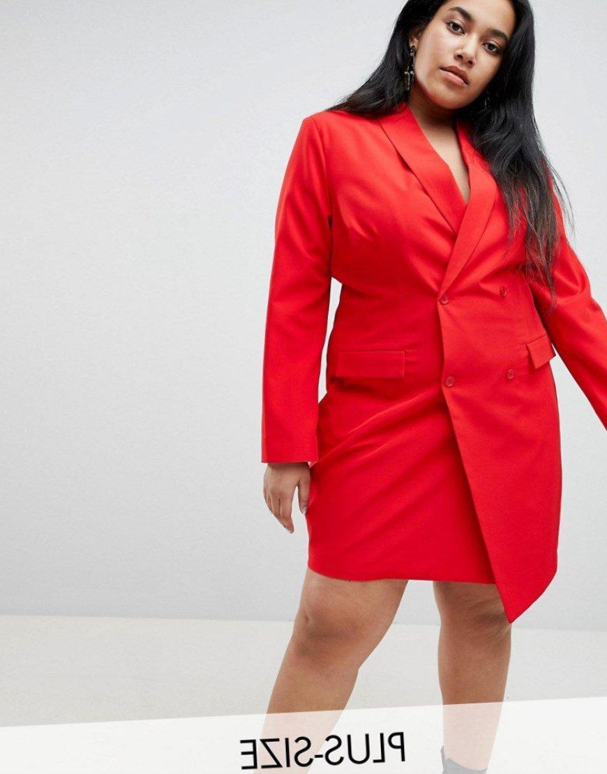 Tuxedo Dress - Red Unique 21 dNdwNAR