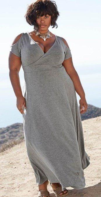 Best Plus size beach maxi dresses - Trends 2019