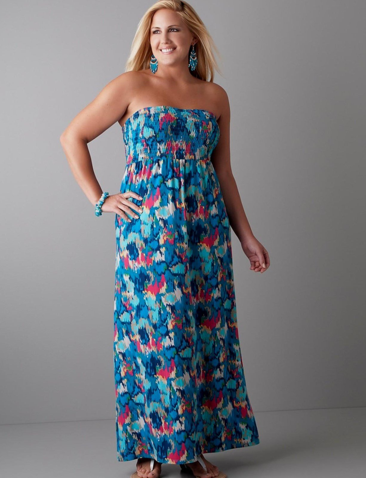 Best Plus size beach maxi dresses - Trends 2019