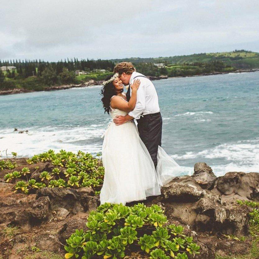 Hawaiian wedding dresses plus size (2019) - bridesmaid hawaiian ...