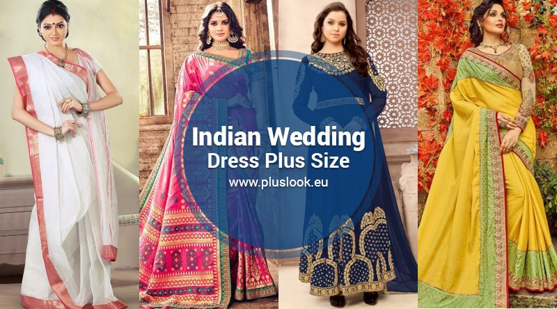 0ffd5aad25 Plus size indian wedding dress - Best Ideas: Bridal Saree 2019